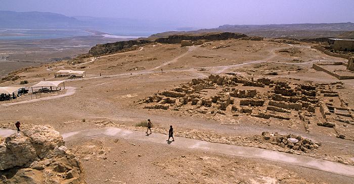 V.l.: Jordanien, Totes Meer, Nationalpark Masada Masada-Nationalpark