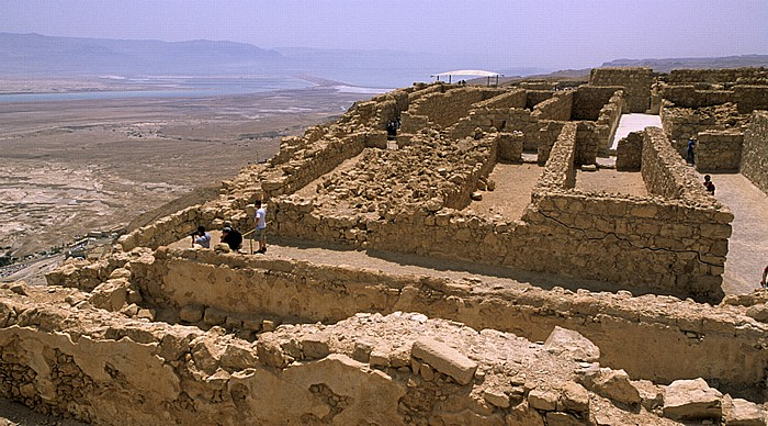 Nationalpark Masada: Lagerräume