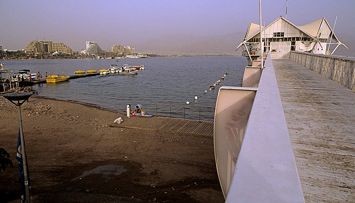 Eilat Strand, Rotes Meer