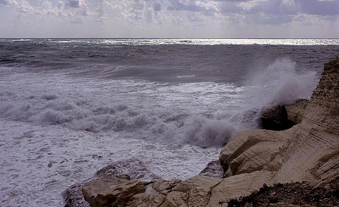 Rosh HaNikra Mittelmeerküste