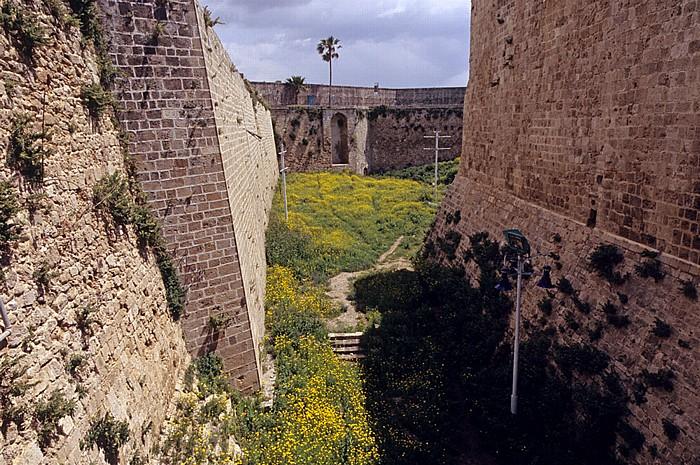 Akko Altstadt: Stadtmauer