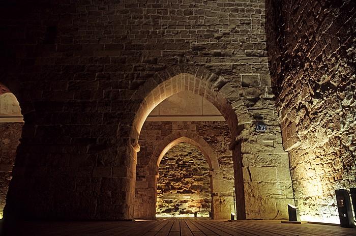 Akko Altstadt: Kreuzfahrerstadt -  Zitadelle