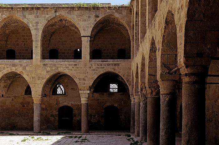Akko Altstadt: Khan el-Umdan (Karawanserei)