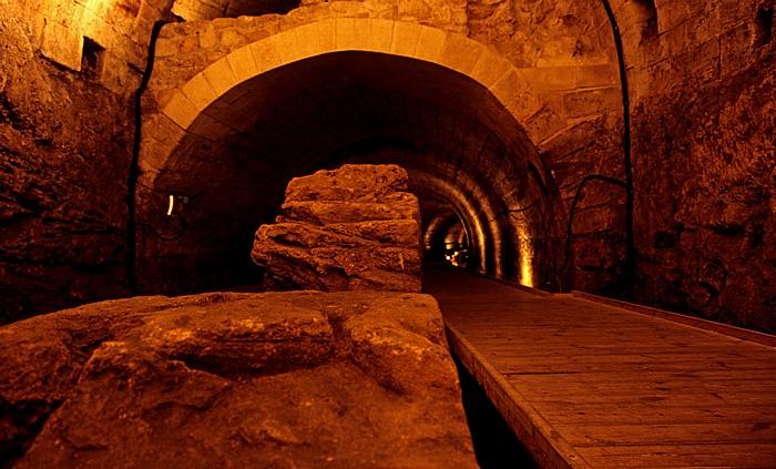 Akko Altstadt: Templer-Tunnel
