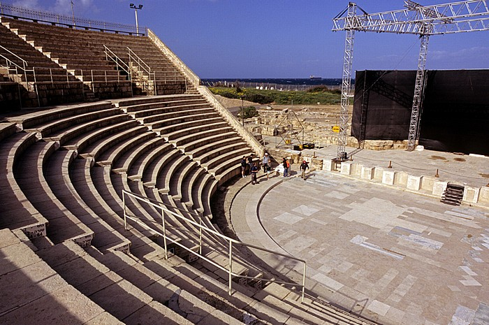 Caesarea National Park: Römisches Theater