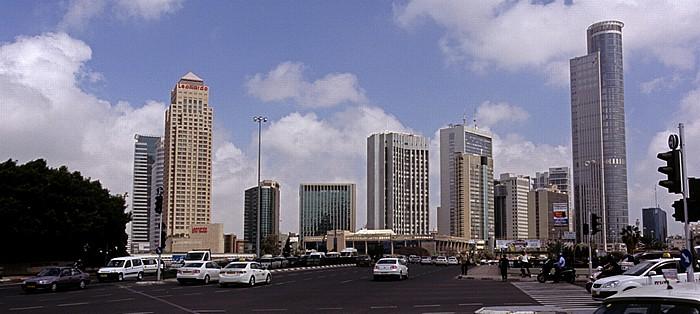Tel Aviv Diamond Exchange District (Ramat Gan Business District) Avgad Building D-Mall Tower Diamond Tower Leonardo City Tower Hotel Moshe Aviv Tower Paz Towers