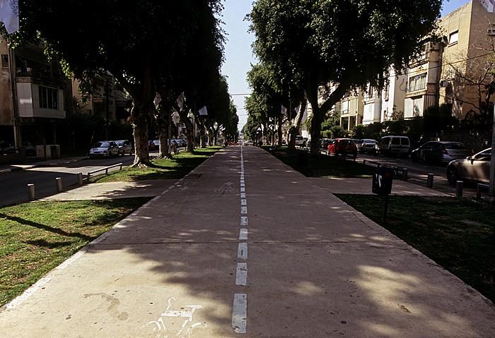 Tel Aviv Ben Zion Avenue