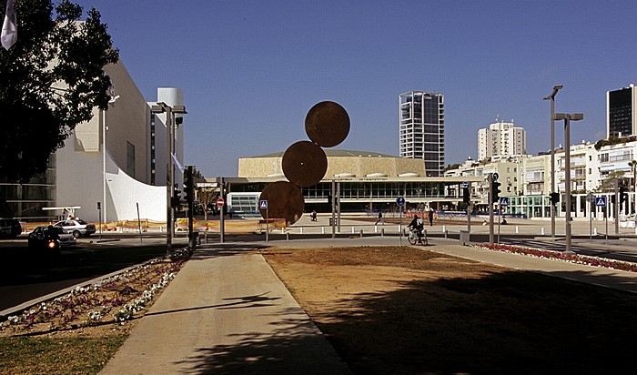 Tel Aviv Weiße Stadt (Bauhausarchitektur): Rothschild Boulevard (Sderot Rotshild), Habima Square (The Orchestra Plaza) Fredric R. Mann Culture Center Habima Complex Habima Theatre Hakibutz Ha'artzi Tower Hashoftim Tower London Ministore Tower