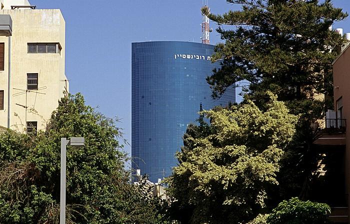 Tel Aviv Rothschild Boulevard (Sderot Rotshild) Rubinstein Tower Weiße Stadt