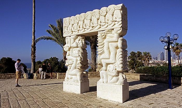 Tel Aviv Alt-Jaffa: Ha-Pisga-Park mit Gan ha-Pisga