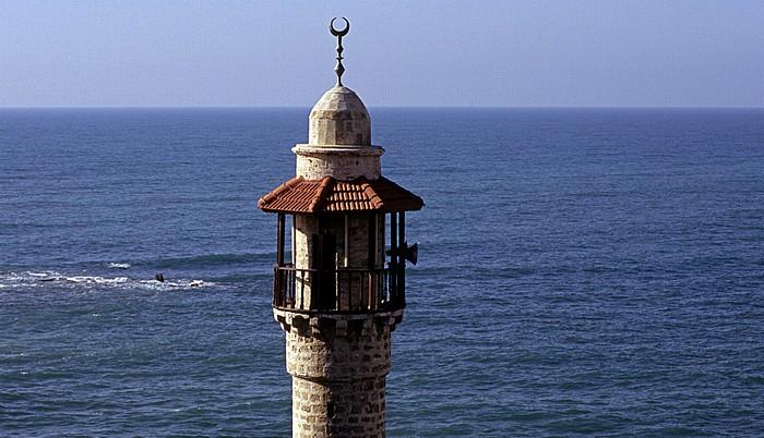 Tel Aviv Alt-Jaffa: Blick vom Ha-Pisga-Park auf die Meeresmoschee