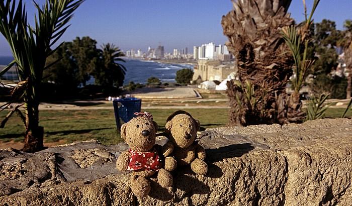 Tel Aviv Alt-Jaffa: Ha-Pisga-Park - Teddine und Teddy