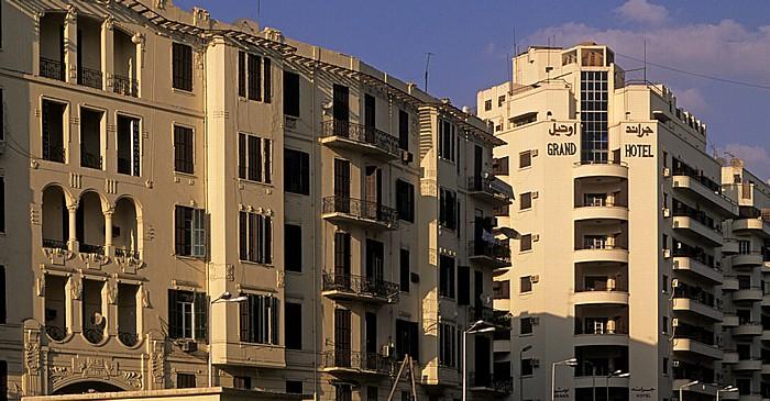Kairo Al-Azbakeya: Talaat Harb Road Grand Hotel
