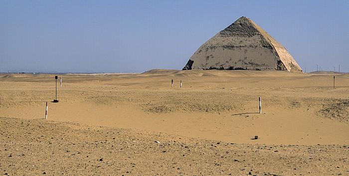 Dahschur Knickpyramide des Snofru, Libysche Wüste