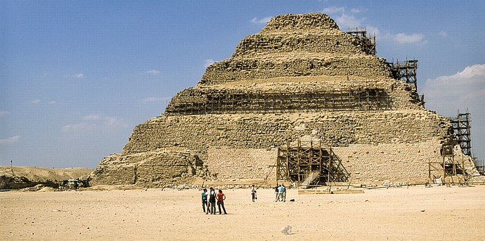 Sakkara Djoser-Pyramide (Stufenpyramide)