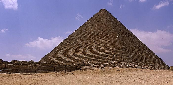 Gizeh-Plateau: Mykerinos-Pyramide