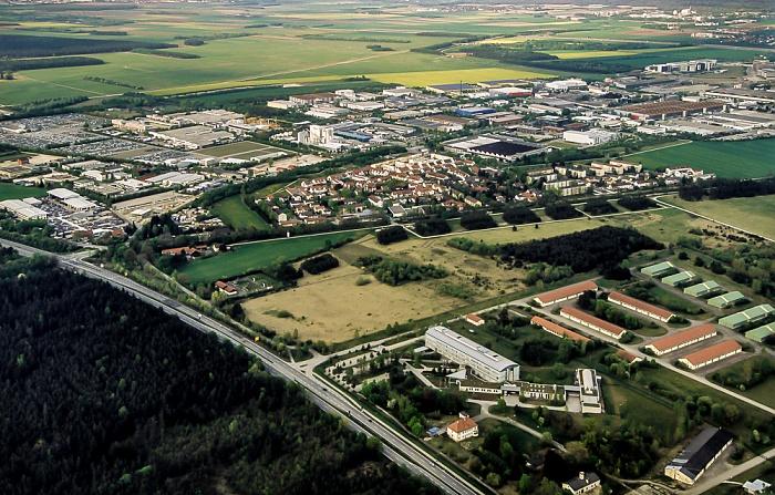 Luftbild aus Zeppelin: Hochbrück München 2011