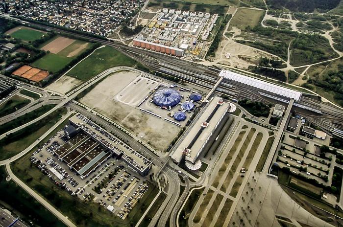 Luftbild aus Zeppelin: Schwabing-Freimann - Fröttmaning München 2011