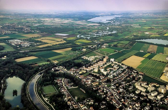 Luftbild aus Zeppelin München 2011