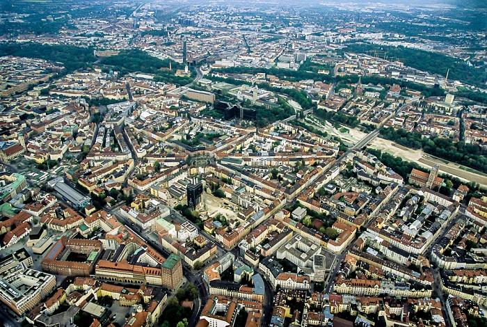 Luftbild aus Zeppelin: Ludwigsvorstadt-Isarvorstadt München 2011