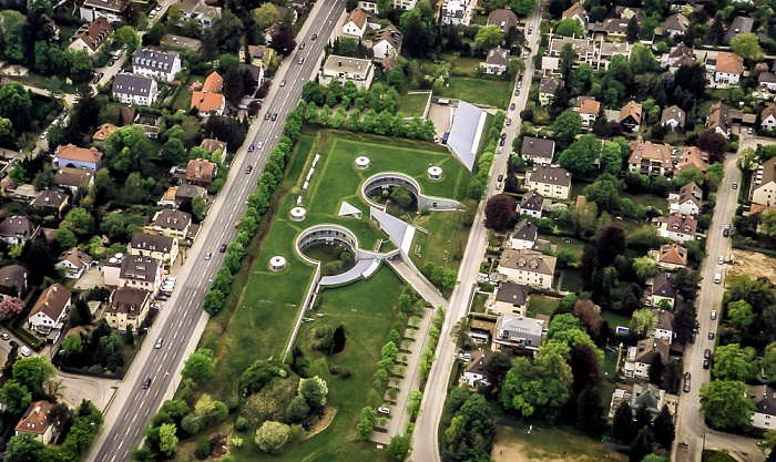 Luftbild aus Zeppelin: Pasing-Obermenzing - Zoologische Staatssammlung München München 2011