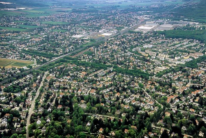 Luftbild aus Zeppelin: Allach-Untermenzing München 2011