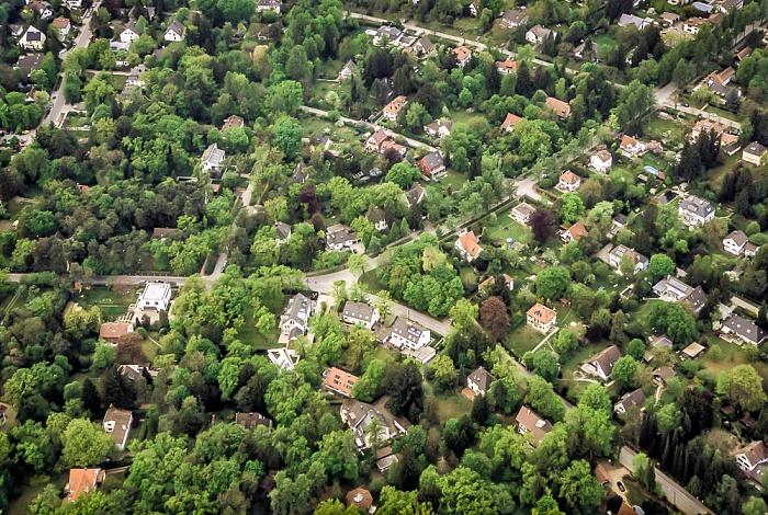 Luftbild aus Zeppelin: Pasing-Obermenzing München
