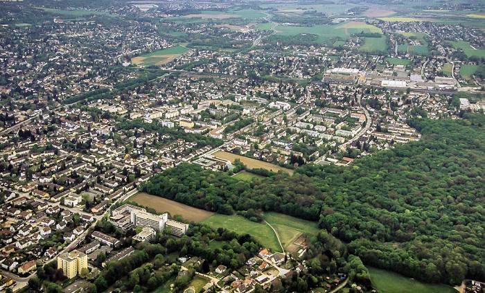 Luftbild aus Zeppelin: Allach-Untermenzing München