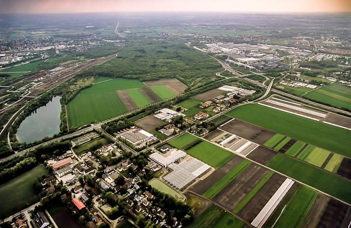 München Luftbild aus Zeppelin: Feldmoching-Hasenbergl