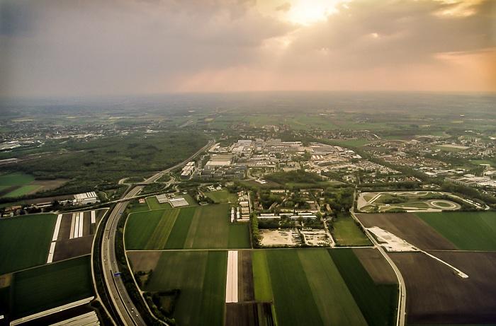 Luftbild aus Zeppelin: Feldmoching-Hasenbergl München 2011
