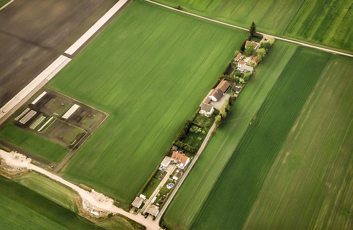 Luftbild aus Zeppelin: Feldmoching-Hasenbergl München