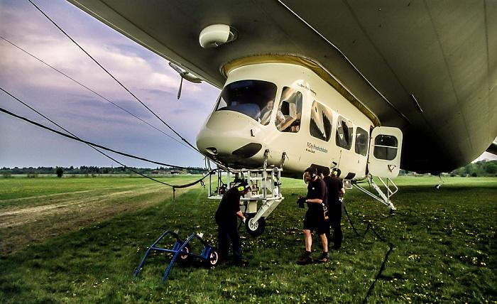Flugwerft Schleißheim: Zeppelin NT München 2011