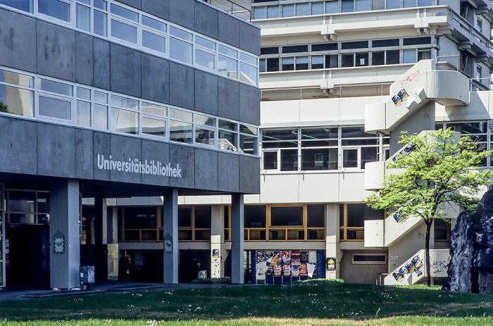 Universität Stuttgart (Campus Vaihingen): Universitätsbibliothek