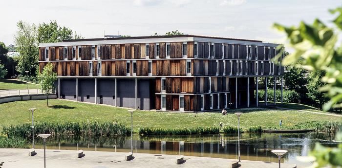 Universität Stuttgart (Campus Vaihingen): Gastdozentenwohnheim