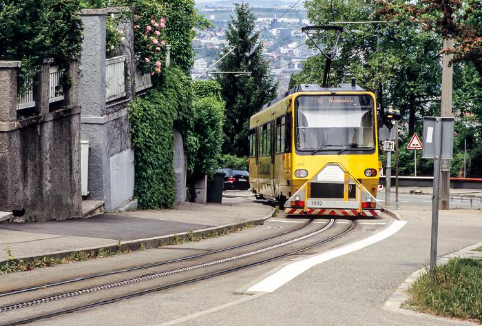 Degerloch: Alte Weinsteige - Zahnradbahn Stuttgart Zacke