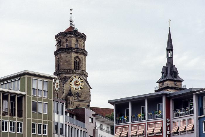 Stuttgart Marktplatz Stiftskirche