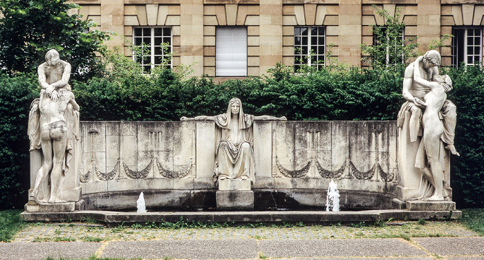 Stuttgart Oberer Schlossgarten: Schicksalsbrunnen