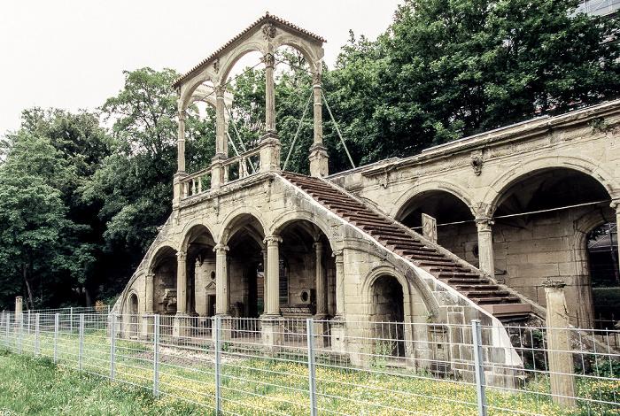 Stuttgart Mittlerer Schlossgarten: Lusthausruine