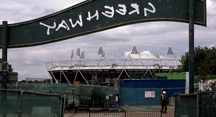 London Stratford: Greenway Olympiastadion