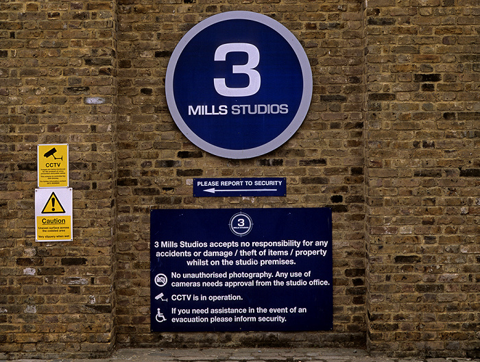 London Bromley-by-Bow: Three Mills Film Studios