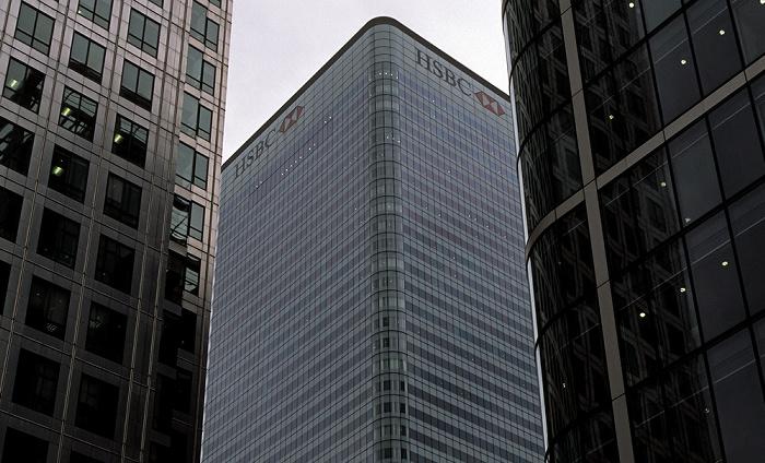 Docklands: Canary Wharf - HSBC Tower London