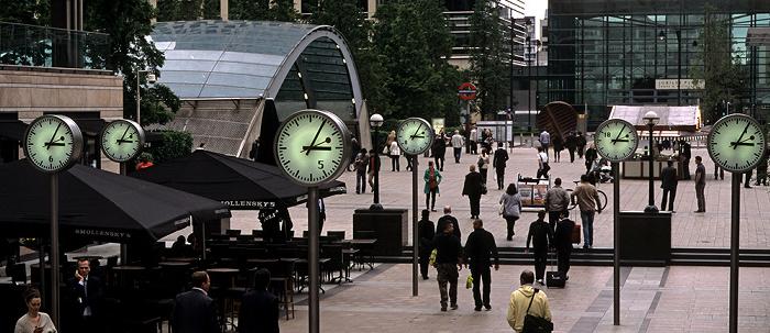 Docklands: Canary Wharf - Canada Square London