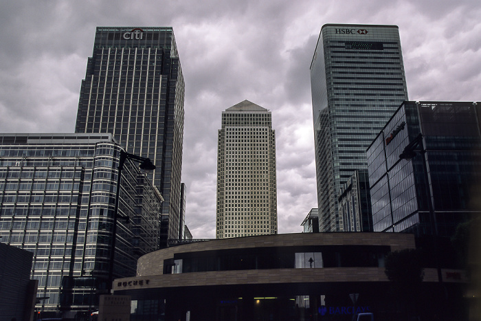 Docklands: Canary Wharf London 2011