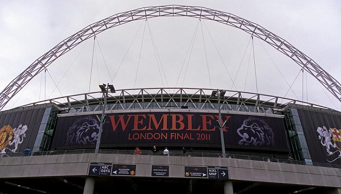 London Wembley Park: Wembley-Stadion (Wembley Stadium)