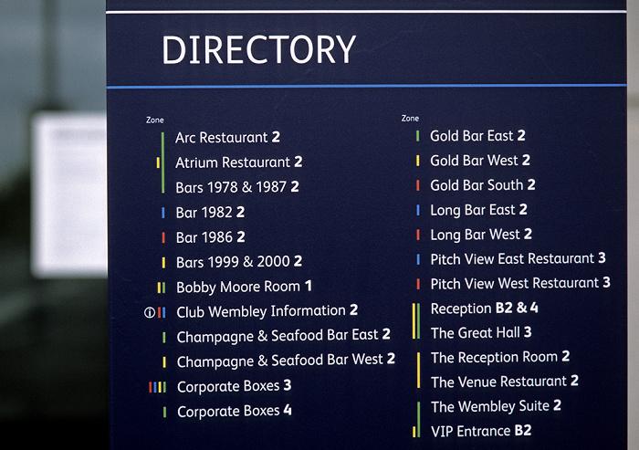 London Wembley Park: Wembley-Stadion (Wembley Stadium) - Restaurantverzeichnis