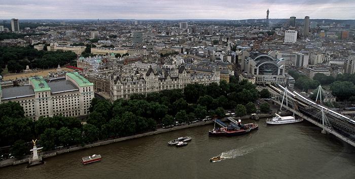 Blick aus dem London Eye London