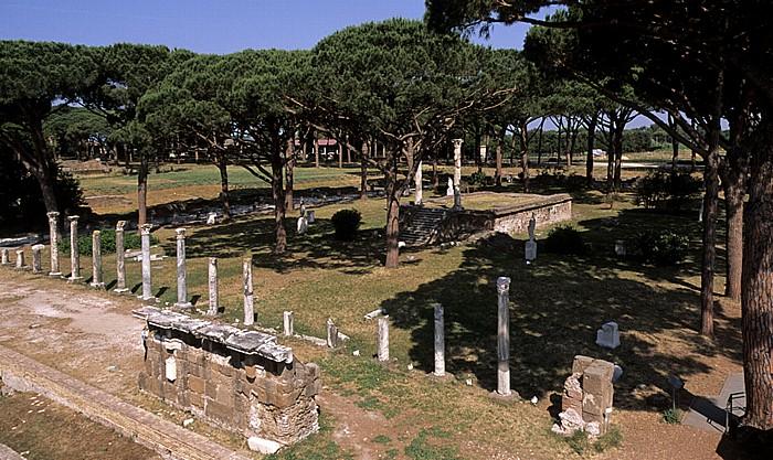 Ostia Antica: Forum der Zünfte
