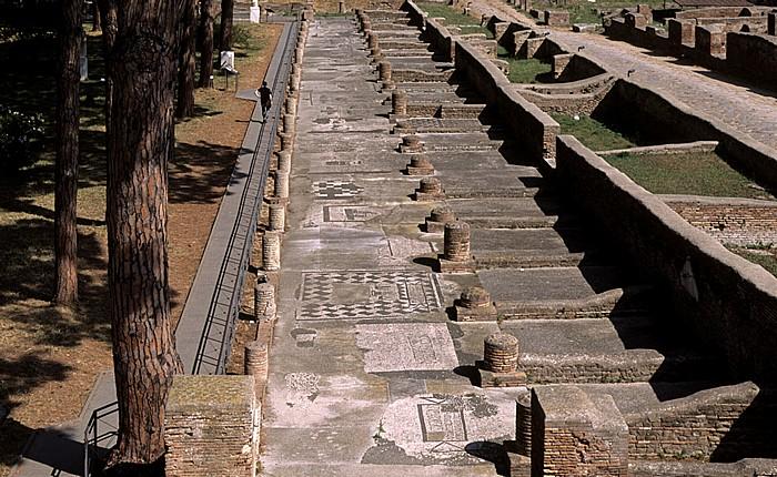 Ostia Antica: Thermen des Neptun