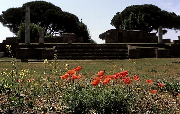 Ostia Antica: Tempio Rotondo