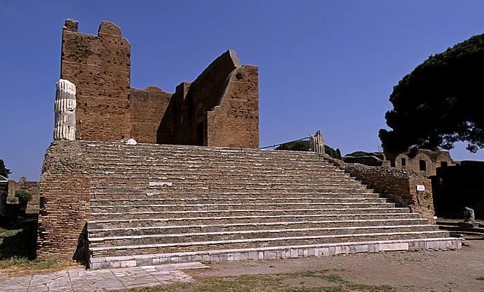 Ostia Antica: Kapitol